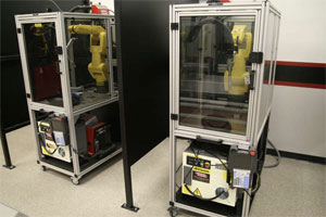 Robotic Welding Education Cells