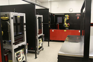 Robotic Welding Lab at College of the Canyons