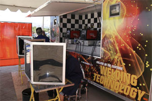 Roadshow Trailer Demonstrates Welding Skills