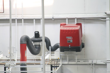 Welding Fume Extractor System