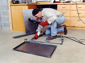 How to Build a Metal Welding Table