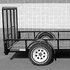 Heavy Duty Mower Trailer