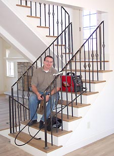 Welded Wrought Iron Staircase Railings