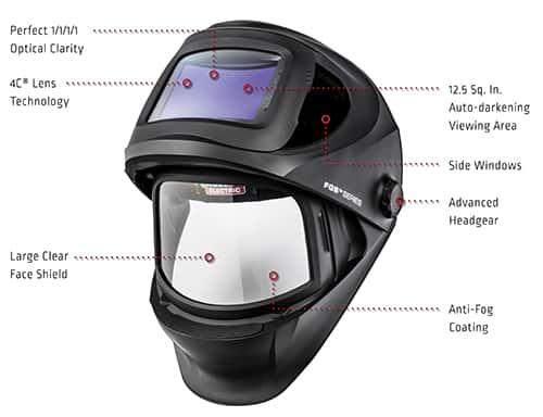 7a02ca3d0 VIKING® 3250D FGS™ Welding Helmet