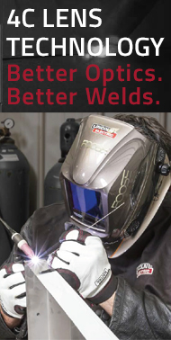 4C Lens Technology Welding Helmets