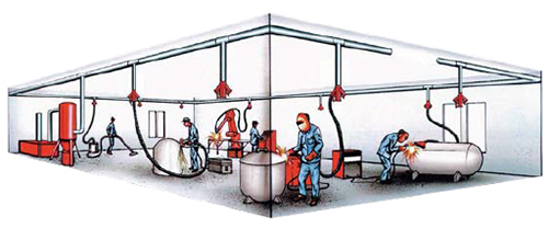 High Vacuum Weld Fume Extraction System