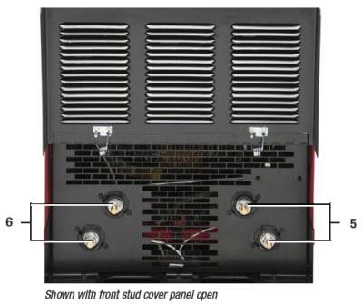 power wave® s700 advanced process welder front