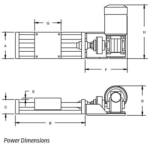 manual slide 6 in  152 mm