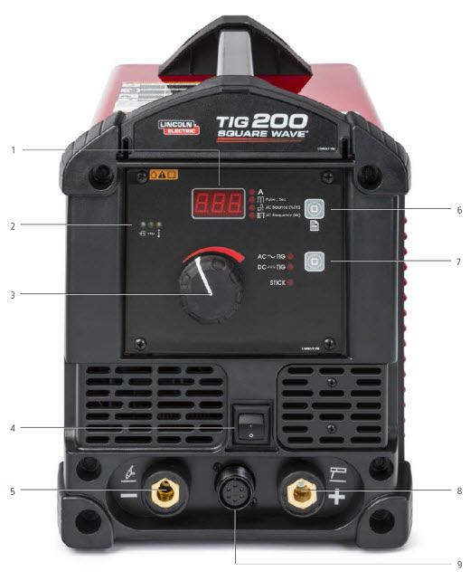 Square Wave TIG 200 TIG Welder – Lincoln 200sa Welder Wireing Diagram