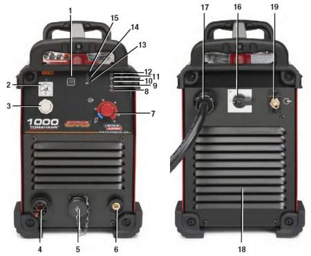 Lincoln Tomahawk 1000 Handheld Plasma Cutter K2808-1