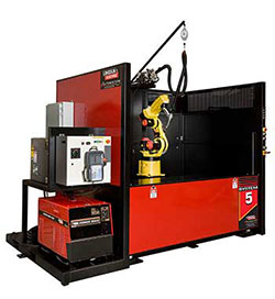 Robotic Welding Education Cell System 5