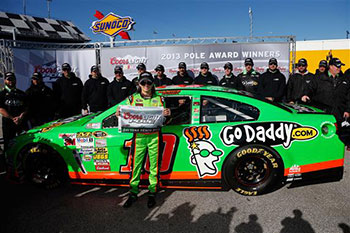 Danica Patrick Becomes First Female Pole Winner In Nascar Sprint Cup