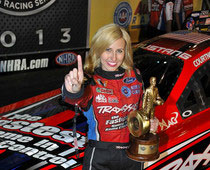 Courtney Force Wins Winternationals