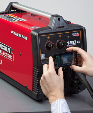 Using Microsft Tags On Lincoln Electric Welders