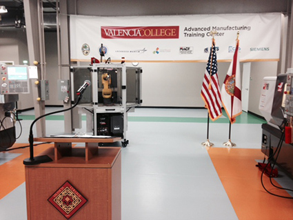 Valencia College's New Advanced Manufacturing Training Center Fills Crucial Need