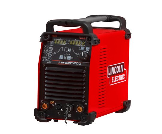 The Aspect® 200 AC/DC TIG welder