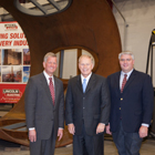 Governor Ted Strickland designates Lincoln Electric as Large Exporter of the Year.
