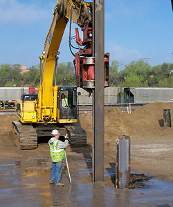 Welding 2,400 12-by-12 inch dimensional H-beams in less than 11 weeks required continuous onsite work.