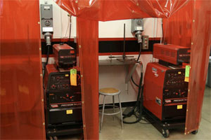 Welding Training Booths
