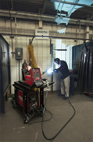 Morbark Welding School
