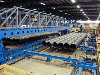 United Spiral Pipe nearly doubles line speed while boosting quality